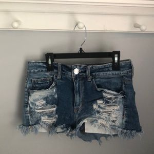 American Eagle Distressed Ripped Shorts